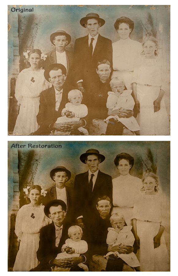 Restoration: Before and After